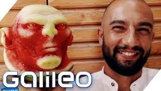 Der Melonen-Michelangelo | Galileo | ProSieben