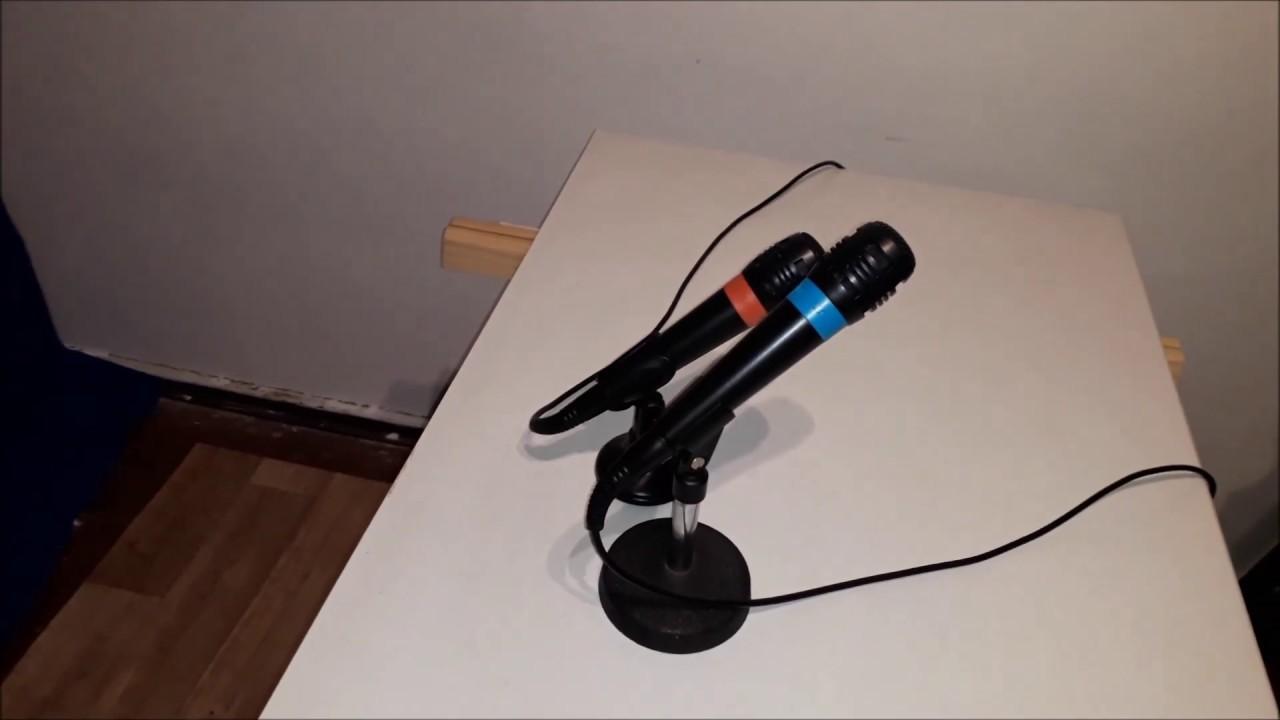 Sony Singstar PS9 Kabel Mikrofone an Windows 9 PC anschließen und  einrichten über USB