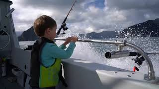 Take your kids fishing and boating!