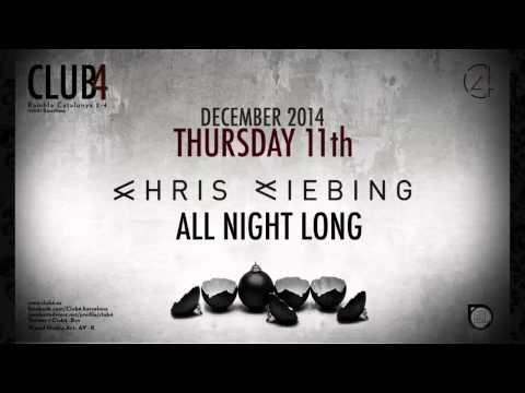 Chris Liebing @ Club 4, City Hall, Barcelona (11.12.2014)