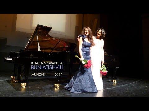 Khatia & Gvantsa Buniatishvili - Libertango München / 1 12 2017