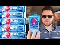 Taco bell blue raspberry airheads freeze taste test the showstopper shows mp3
