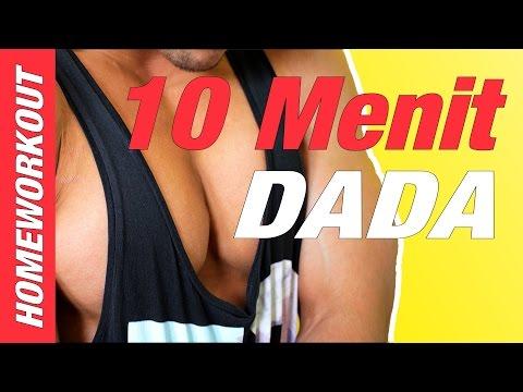 LATIHAN DADA DALAM 10 MENIT DI RUMAH