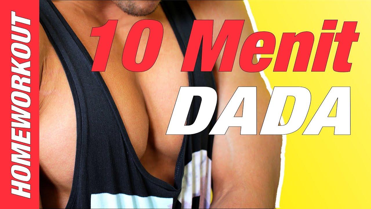 Latihan Dada Dalam 10 Menit Di Rumah Youtube Penyangga Bahu Olahraga