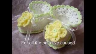 Crochet baby booties: My Creation for girls