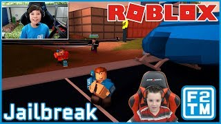 GamerBoyJJM & Fraser2TheMax in Roblox Jailbreak!!!
