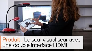 Comment faire collaborer un visualiseur Lumens avec une tablette ?