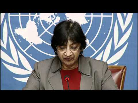 Statement by the UN High Commissioner for Human Rights