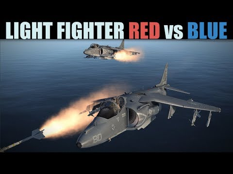 Light Fighter Red Vs Blue PvP | Multiple Dogfights | DCS 2.5
