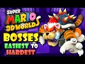 All Super Mario 3D World Bosses Ranked from Easiest to Hardest