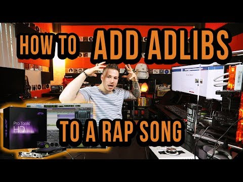 The Right Way To Add Adlibs To A Rap Song