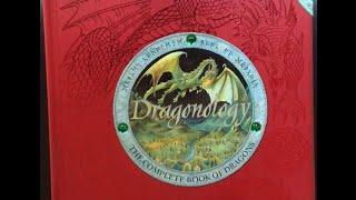 ASMR Dragonology Book Exploration