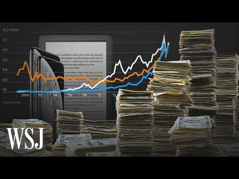 How Apple, Amazon And Microsoft Hit $1 Trillion Valuation | WSJ