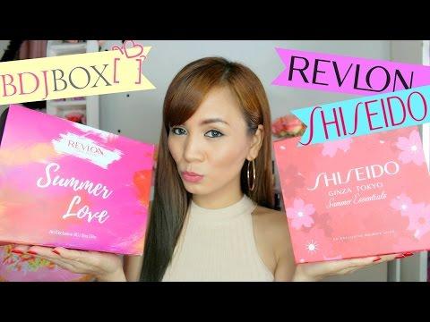 BDJ Beauty Box Unboxing!! (Revlon and Shiseido) + Follower Shoutout! ♥