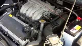 Запуск двигателя 6А12 Mitsubishi FTO
