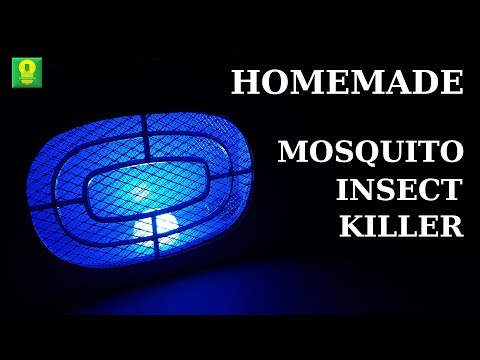 How To Make Mosquito Insect Killer At Home