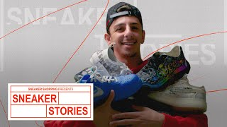 Faze Rug Shows Off His Rare Off White, Gucci and More On Sneaker Stories