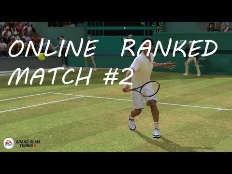 Grand Slam Tennis 2 - Online Ranked Match #2