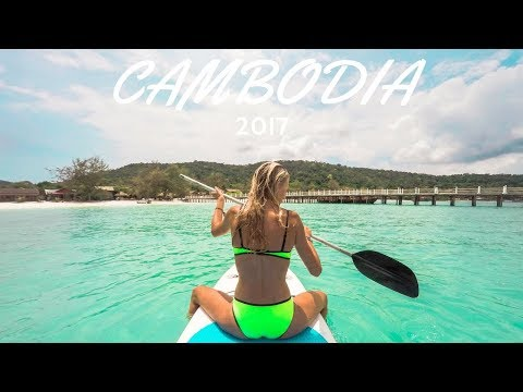 Cambodia Travelling 2017 | GoPro Hero 4 Silver Video