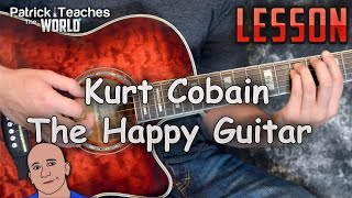 Kurt Cobain-The Happy Guitar-Tutorial-Tabs-Cover-Lesson