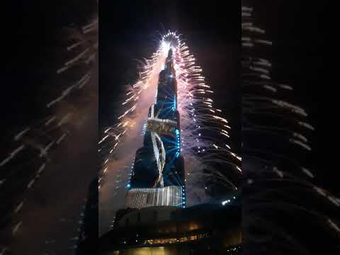 HAPPY NEW YEAR 2021 #UAE #DUBAI #DUBAIMALL #BURJKHALIFA