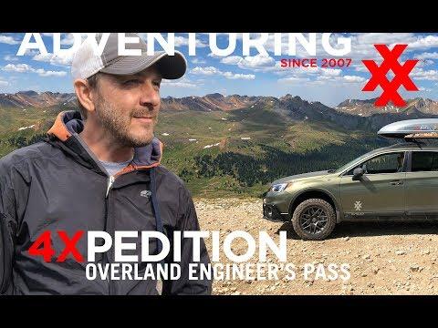 Subaru Outback Off Road Engineer's Pass Colorado Overland Car Camping