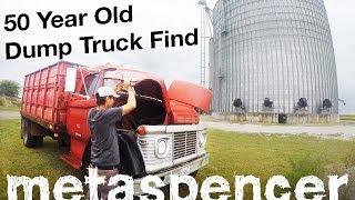 50 Year Old Dump Truck Find