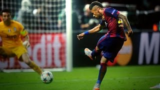 Neymar Amazing and Brilliant footwork skills 2016