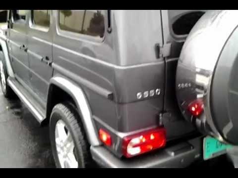 2013 Mercedes-Benz G-Class exhaust sound, walkaround, and interior