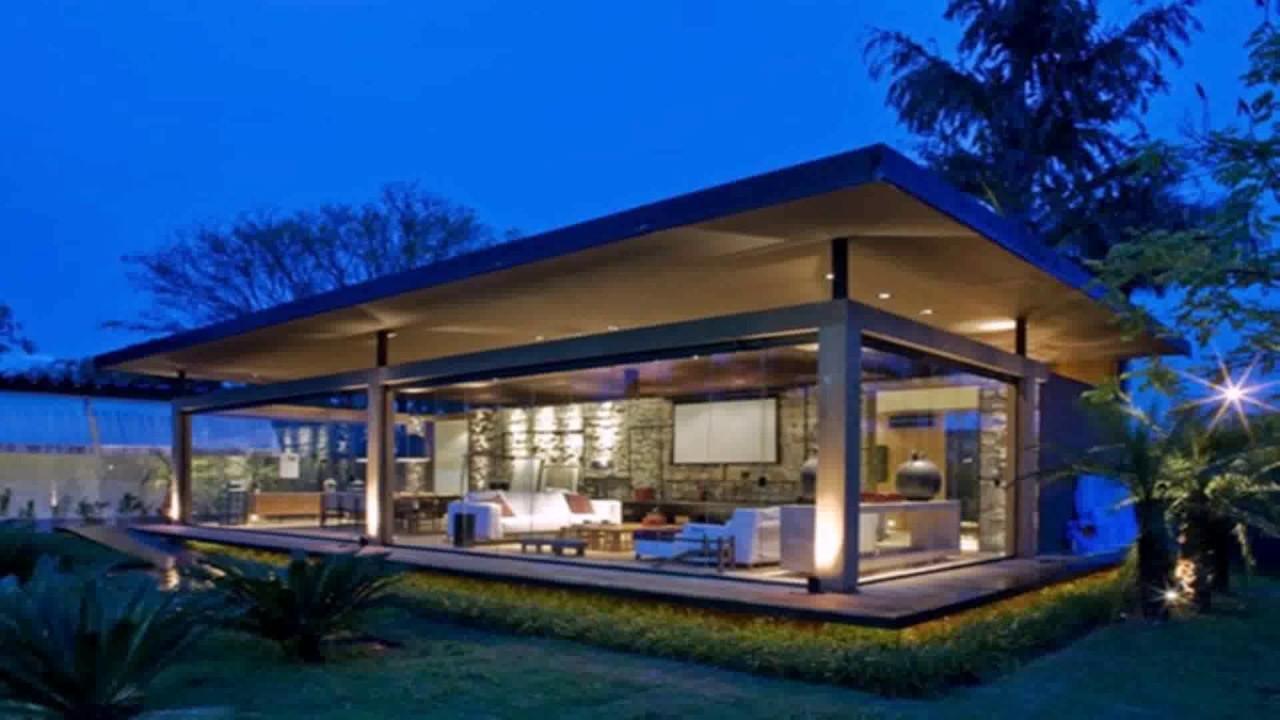Modern Loft Style House Plans - YouTube