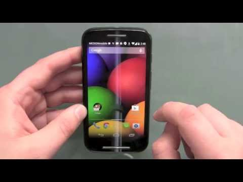 Motorola Moto E setup installation and first impressions