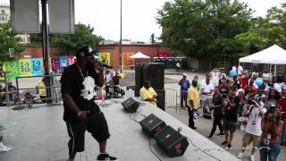 Beanie Sigel ft Freeway - Roc Da Mic @ Converse Block Party