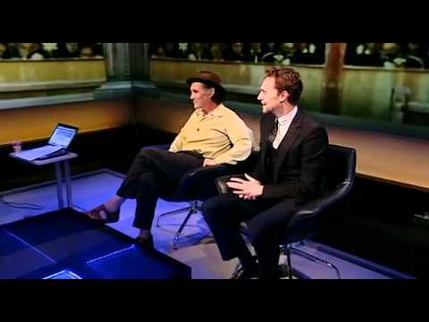 Tom Hiddleston on Newsnight 28.05.2012.