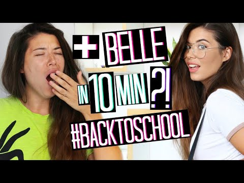 PIÙ BELLE IN 10 MINUTI?!? BACK TO SCHOOL MAKEUP 2018   TRUCCO SCUOLA   OUTFIT   Adriana Spink