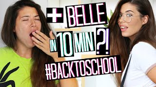 PIÙ BELLE IN 10 MINUTI?!? BACK TO SCHOOL MAKEUP 2018 | TRUCCO SCUOLA + OUTFIT | Adriana Spink