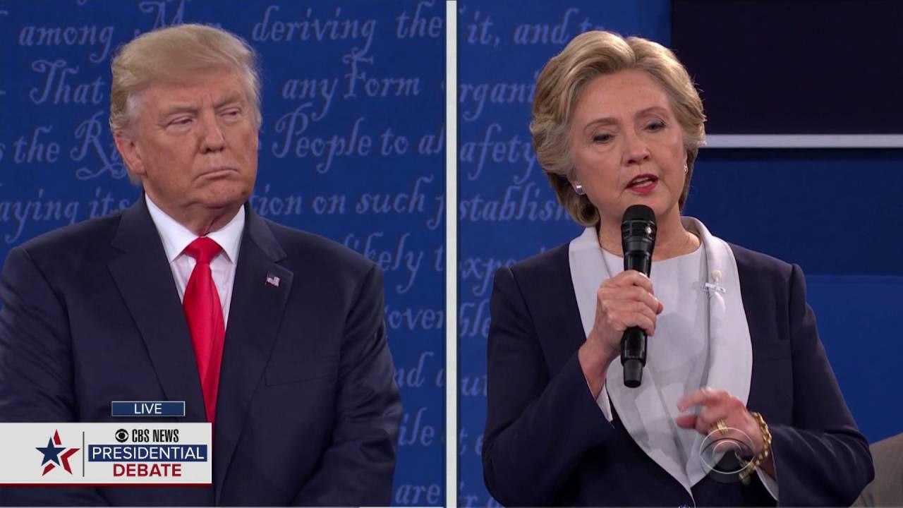 2016 2nd Presidential Debate Oct 9, 2016 - Full Debate 1080P