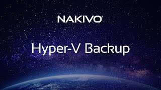 Hyper-V Backup: Fast, Simple, Powerful