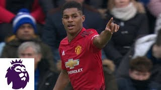 Marcus Rashford puts Man United in front early against Leicester City | Premier League | NBC Sports