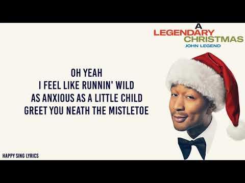 WHAT CHRISTMAS MEANS TO ME - JOHN LEGEND FT. STEVIE WONDER (Lyrics)