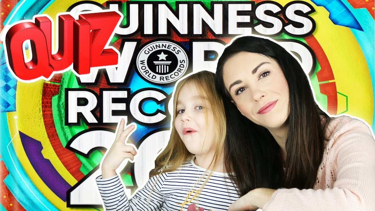 challenge livre des records 2019 quiz guiness world records 2019 youtube