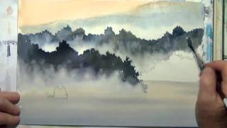How to Paint Fog With Watercolor