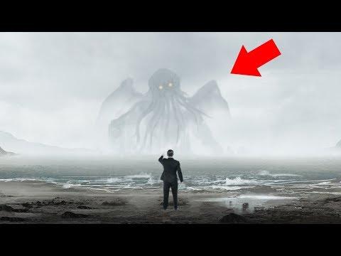 8 Мистических Явлений в Море, Снятых На Камеру