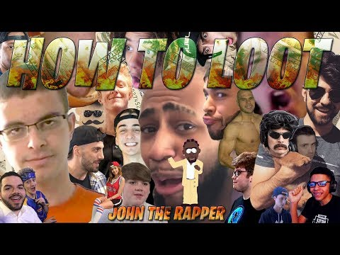 Rapper roasts over 25 Fortnite twitch streamers. Fortnite Killshot edition.