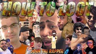 John the Rapper rap battles 25+ Fortnite Streamers | How to Loot | #FortniteRap #Killshot