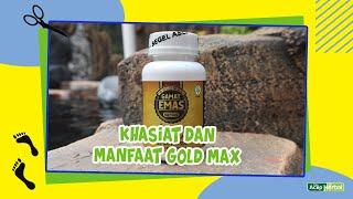 Obat Herbal Solusi Penyembuhan Masalah Pada Pria - GOLD MAX GAMAT EMAS KAPSUL - Obat Impotensi - Obat Lemah Syahwat - Obat Ejakulasi Dini