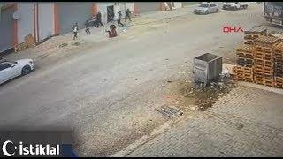 Adana'da 1 kişinin öldüğü, 4 kişinin yaralandığı silahlı kavga kamerada