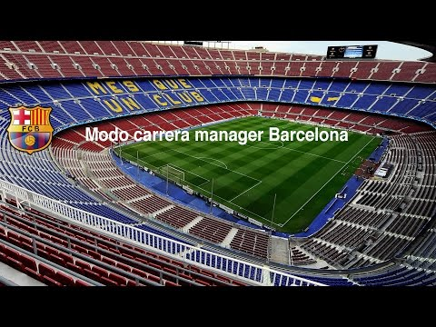 Modo carrera manager Barcelona #9 ¡A la Rosaleda!