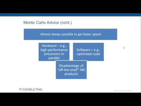 Rapid Monte Carlo Simulation for Forecasting, Stress Testing, and Scenario Analysis - May 17, 2016