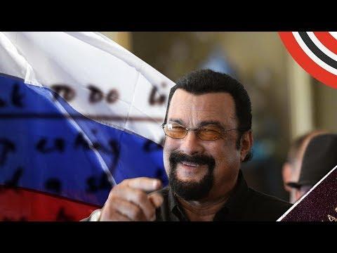 СТИВЕН СИГАЛ feat. ЛЕОН РУБИ - ШКОЛА ВЫЖИВАНИЯ В РОССИИ