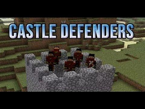 Мод на майнкрафт castle defenders 1.4.7